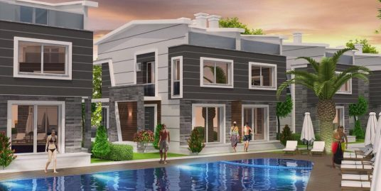 Kuşadası Güzelçamlı'da Projeden Yazlık Villalar